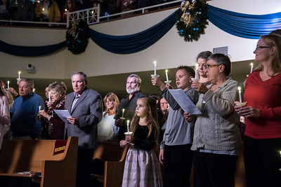 Christmas Eve at Davidson United Methodist Church [Bill Giduz photo]