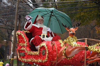 "Santa and his reindeer waved a happy ""Farewell!"" to the festivities this year. (Bill Giduz photo)"