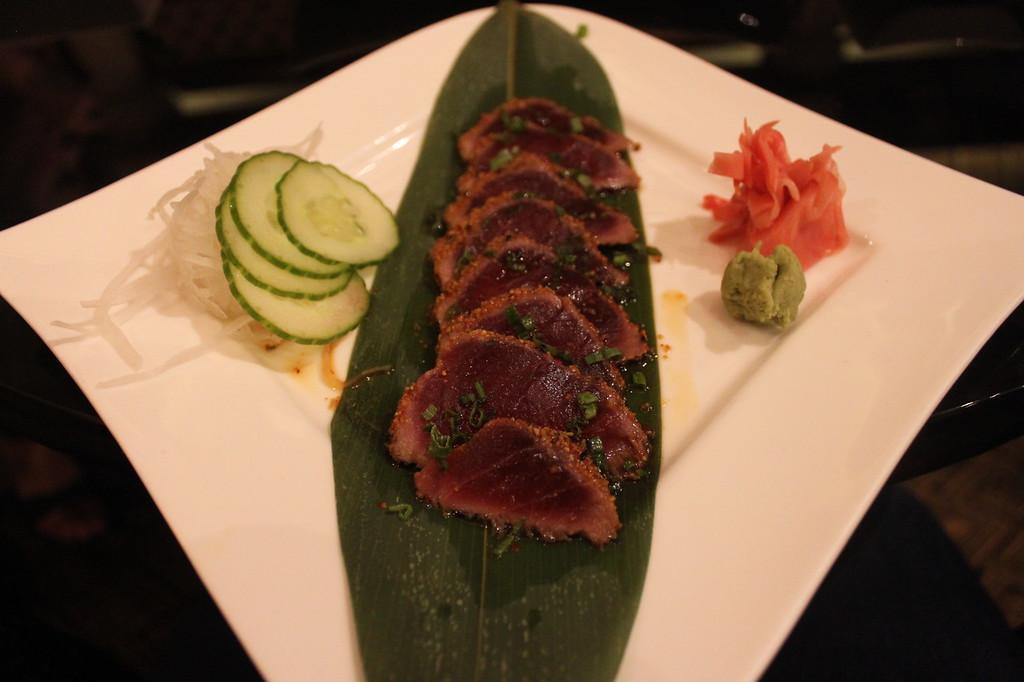 Tuna Tataki, Orchid Court Lounge and Sushi Bar- Loews Royal Pacific Resort
