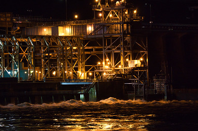 Conowingo Hydro Electric Early Morning
