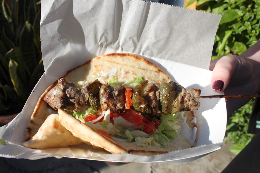 Beef kebab Universal Orlando