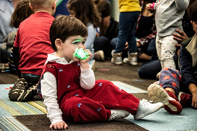 Young children can't help but put things in their mouths, especially if it glows. (Bill Giduz photo)
