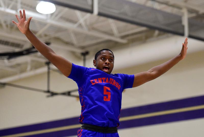 Holy Family Vs. Centaurus High School Boys Basketball