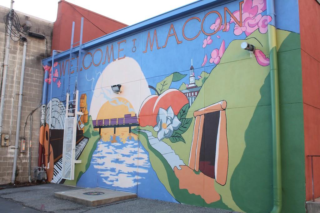 Macon mural