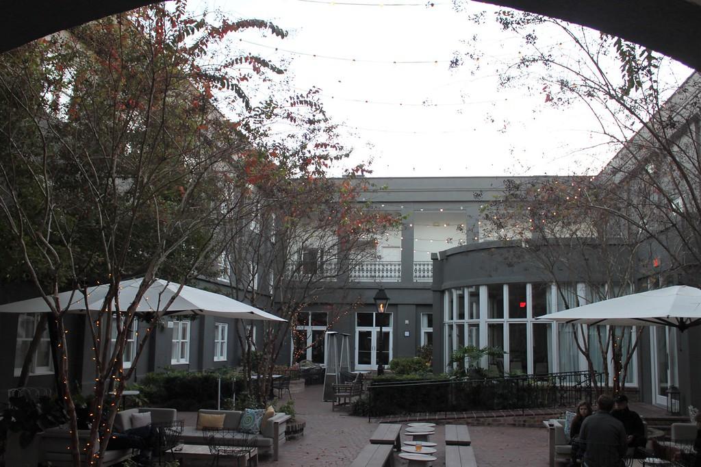 Kimpton Brice Hotel Courtyard