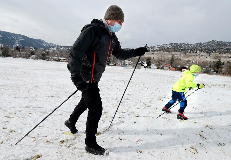 December 29, 2020 Snow in Boulder County