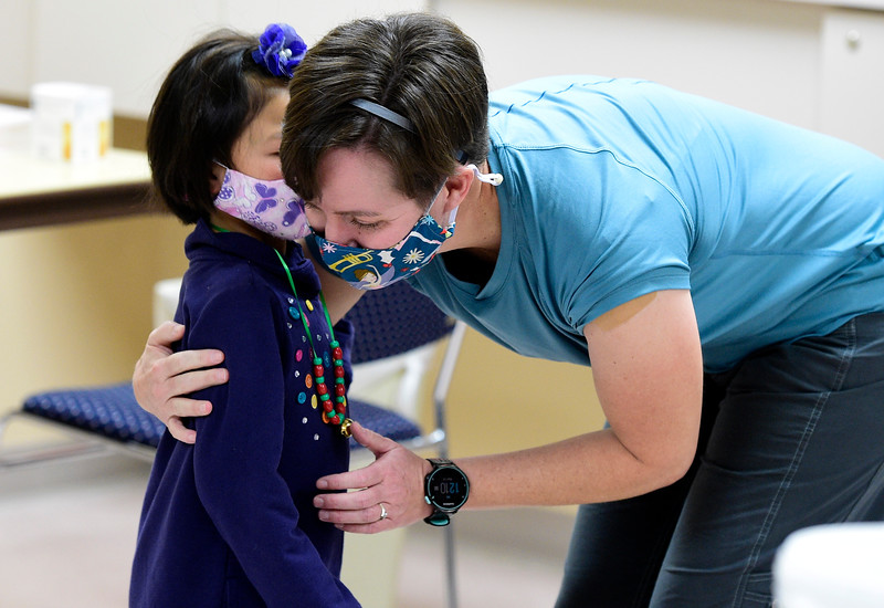 First COVID-19 Vaccine in Longmont