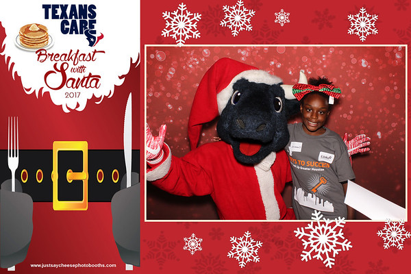 Texans Care Breakfast with Santa - Strips