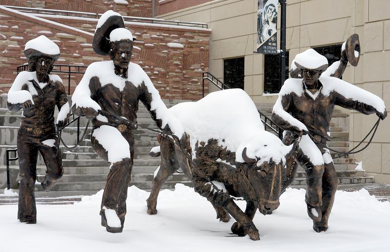 Snow on December 7, 2016
