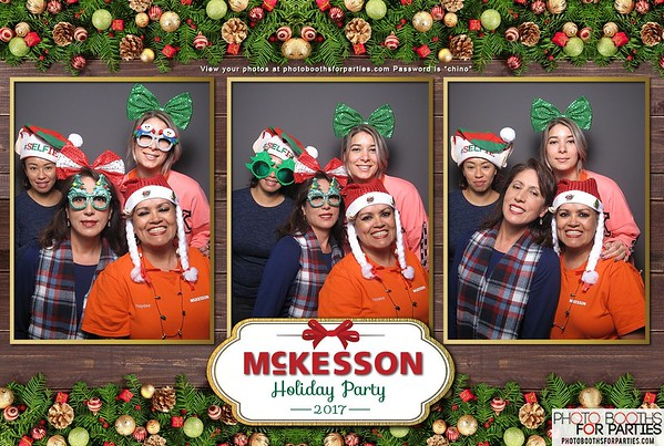 McKesson Holiday Party '17