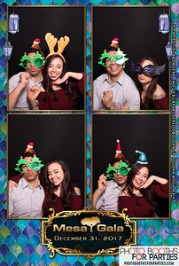 Mesa Gala NYE Party '17