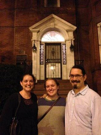 <big>Jessica's sister Jen,  in DC for a visit, explores the city with Jessica & Thomas.</big>
