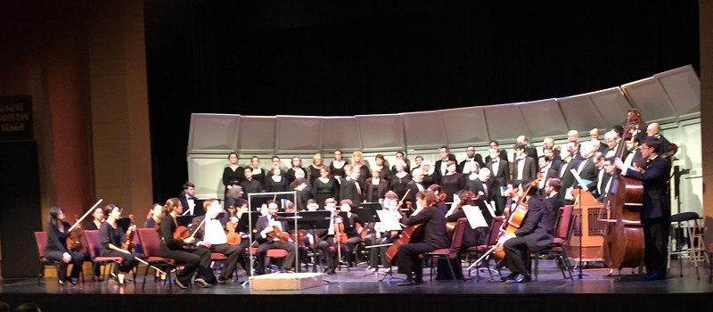 Choral singing is an important part of Eliot's life. He's still singing with  Bloomington Chamber Singers - thirteen years now. This is a Mozart Requiem performance this last spring.  For four years, he has also been in the choir at St. Thomas Lutheran Church.