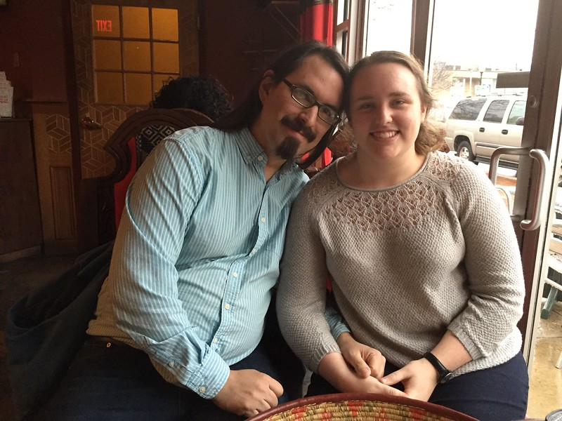 In March we headed to Washington, DC for a visit with our son Thomas and his fiancee, Jessica. They've discovered that Silver Spring, Maryland has a remarkable abundance of Ethiopian restaurants and this one is their favorite. We were happy to try it out.