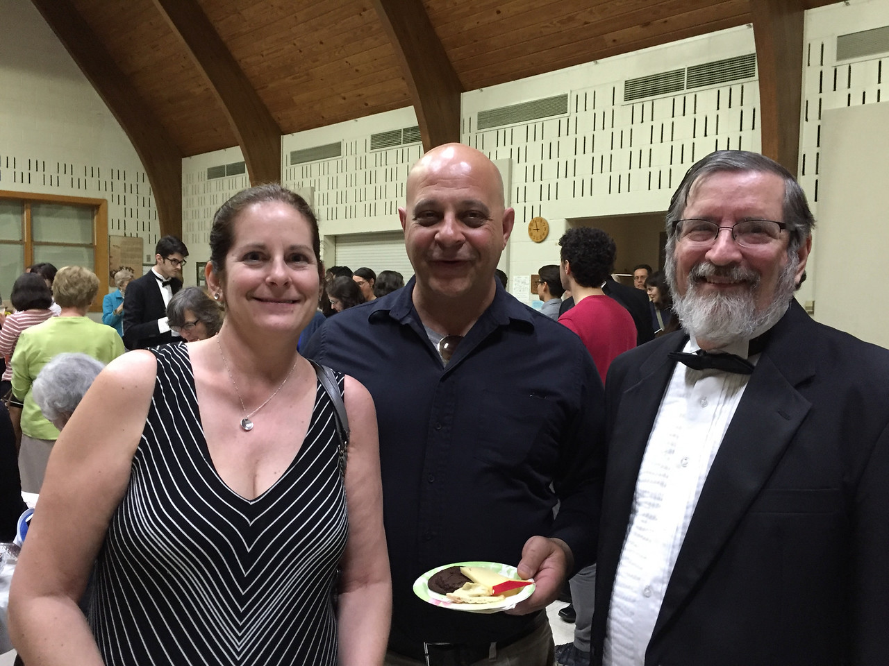 Alison and Mike, her fiance, came down for a visit & heard one of the Bloomington Chamber Singers' concerts. That was another special joy for us!