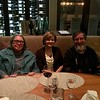 Dinner at a swell place with Eliot's coauthor, Diane Mackie. This dinner was a thank-you gift from Eliot's colleagues when he finished his term as editor of Journal of Personality and Social Psychology: Attitudes and Social Cognition.