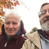 The last time Eliot saw his father was in November of 2016. Here, they're on a walk around Upper Lake.<br /> <br /> May Curtis' memory be a blessing. May his good deeds live forever. May his hundreds of students remember him with love. May his descendants always recount the stories of the diverse and startling things he blew up, dissolved, or fired.