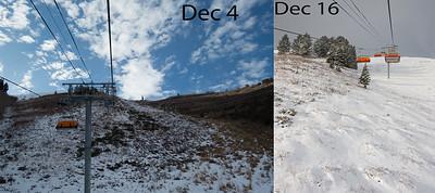 December snow comparison
