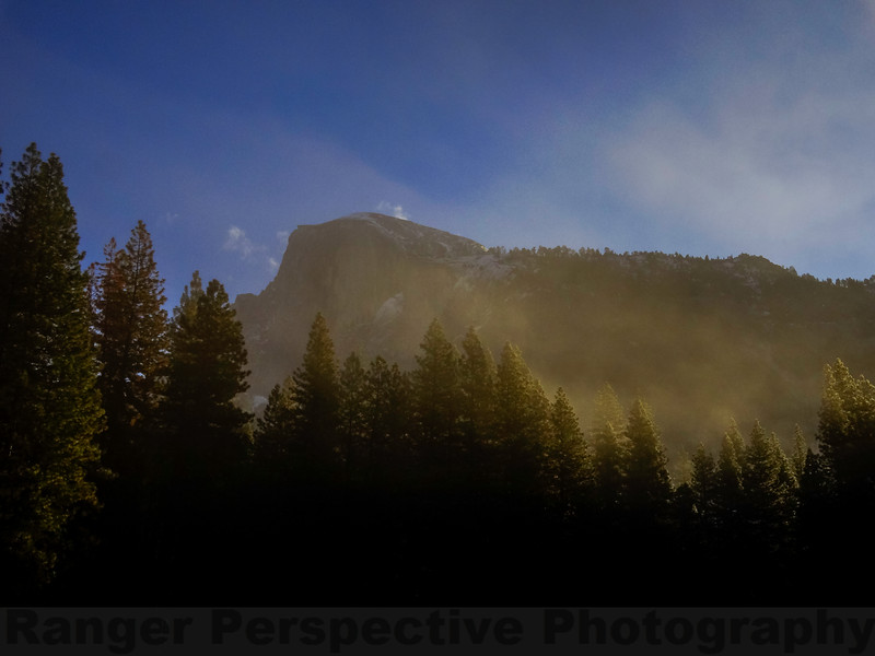 Half Dome from Stoneman Meadow