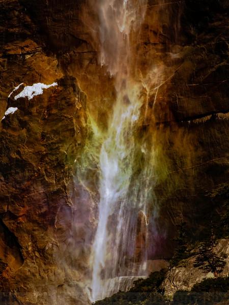 Spraybow at Upper Yosemite Falls