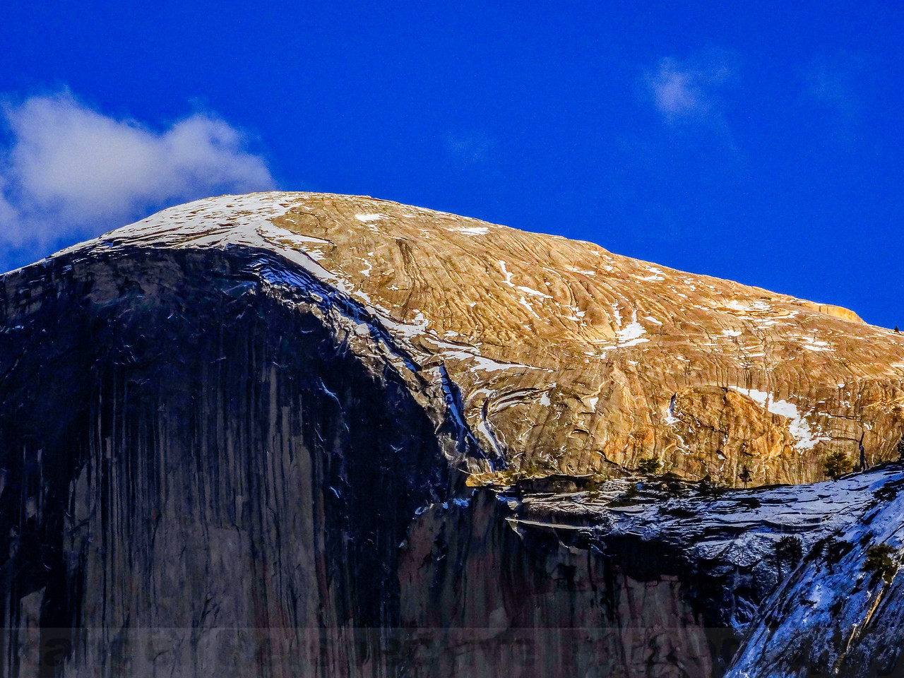 Part of Half Dome