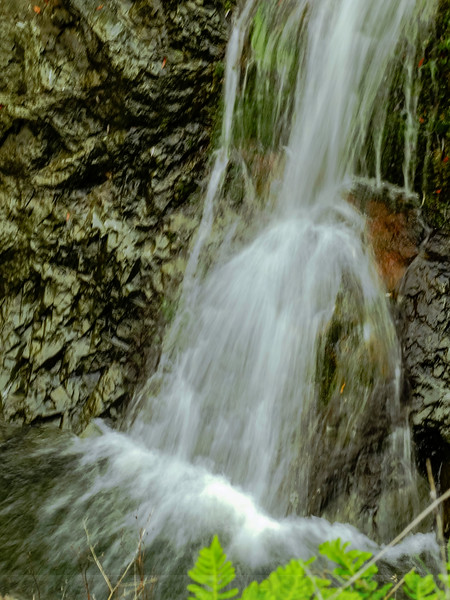 The bottom of the lower plunge at Upper Carson Falls