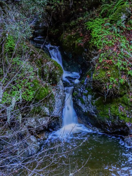 Little Pool Falls on Cataract Creek