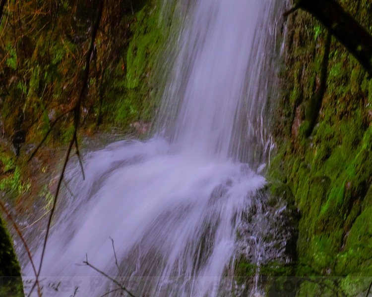 Base of the upper Plunge of Cataract Falls