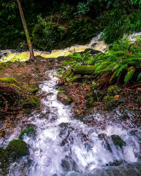 Flowing towards Cataract-iPhone Version