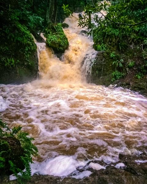 High Flow at Helen Markt Falls-iPhone Version