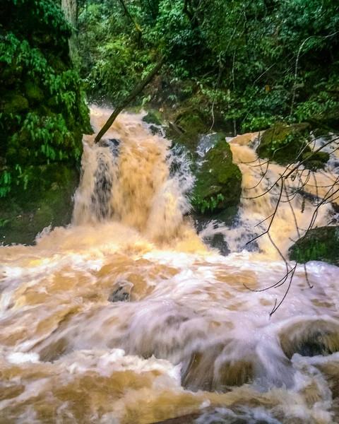 Cataract Creek at Cataract Bridge-iPhone Version