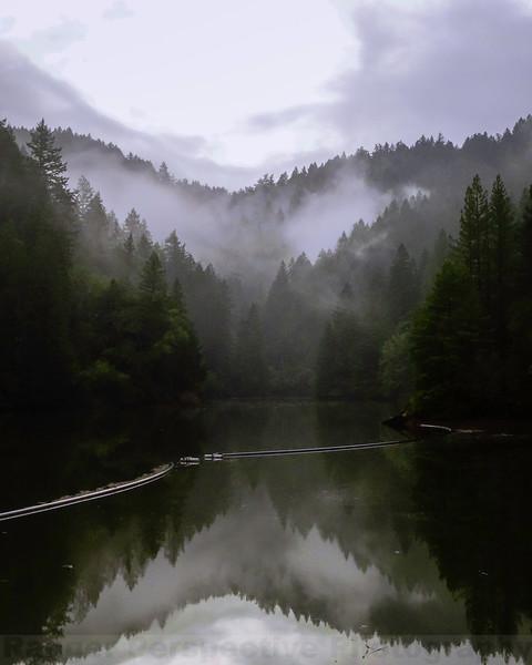 Alpine Lake at Cataract Gulch
