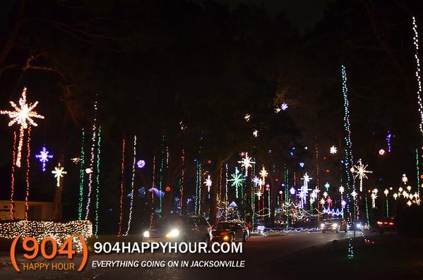 Amazing Christmas Lights In Jacksonville - 904 Happy Hour