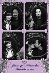 Javier and Alexandra