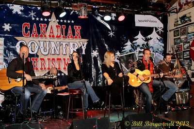 Canadian Country Christmas tour at Blackjacks Roadhouse, Nisku - 2013