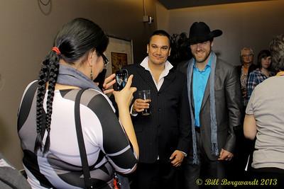 George Canyon - VIP reception - Huron Carole 2013 029