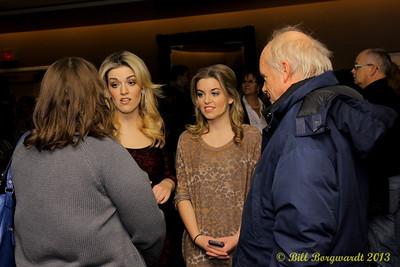 Carly & Britt McKillip - One More Girl - VIP reception - Huron Carole 2013 031