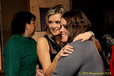 Beverley Mahood - VIP reception - Huron Carole 2013 010