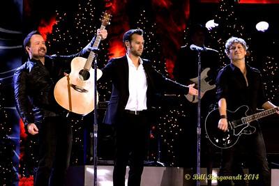 Derric Ruttan, Chad Brownlee, Jason Blaine - CCMA Holiday Special