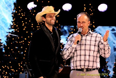 Dean Brody with CISN's Chris Sheets - CCMA Holiday Special