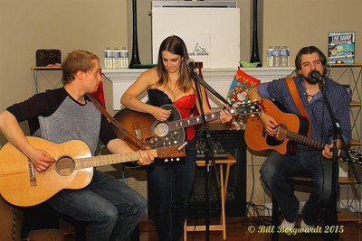 Justin Hogg, Danielle Edge, Bradley Tucker - Tavern New Year 2015 150
