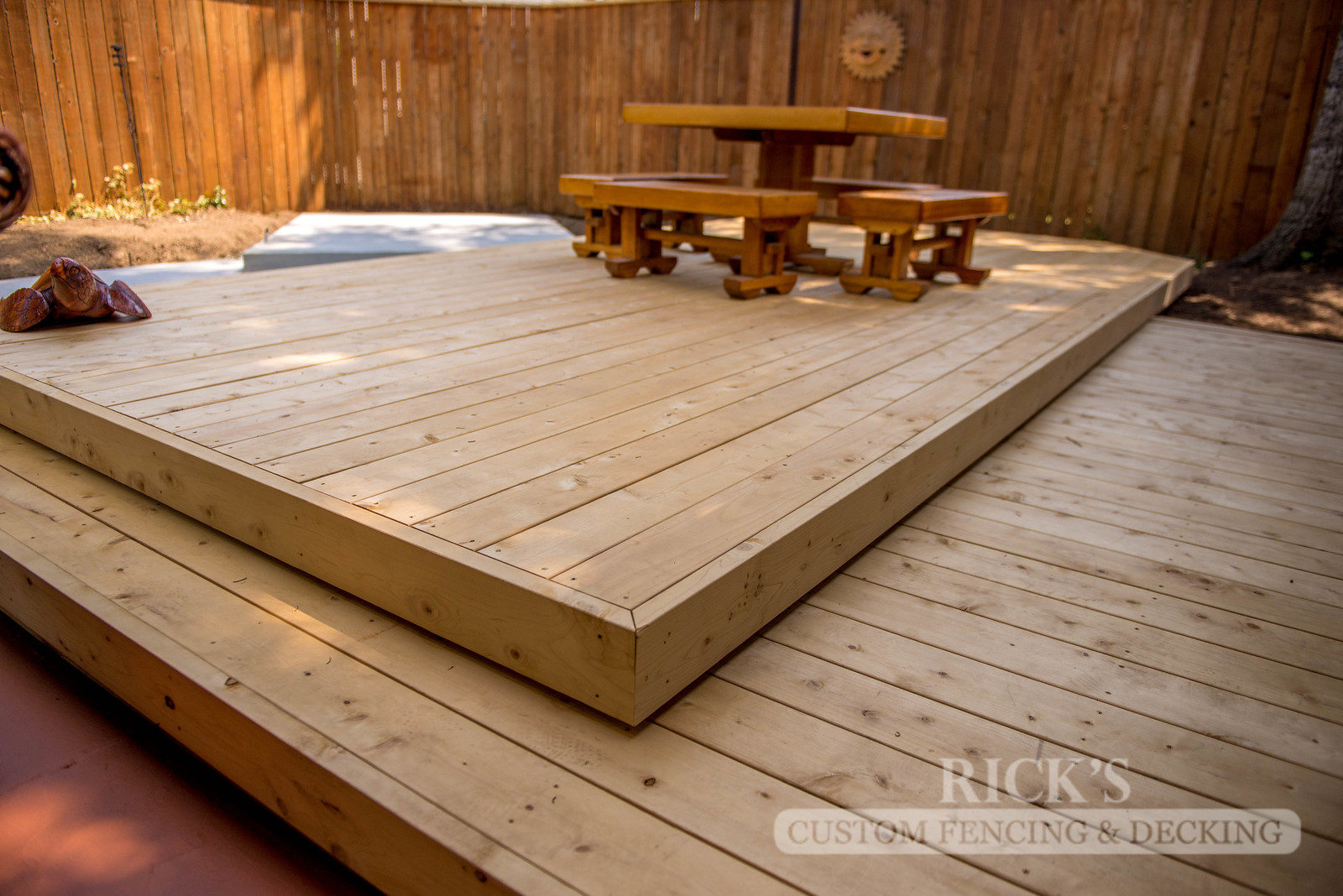 1023 - Port Orford Cedar Decking