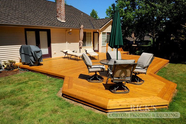 1059 - Stained Port Orford Cedar Decking