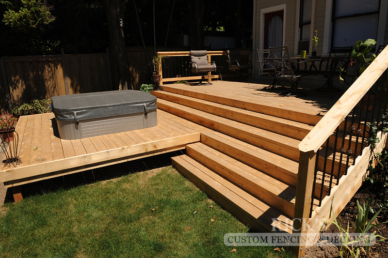 1035 - Port Orford Cedar Decking with Handrail