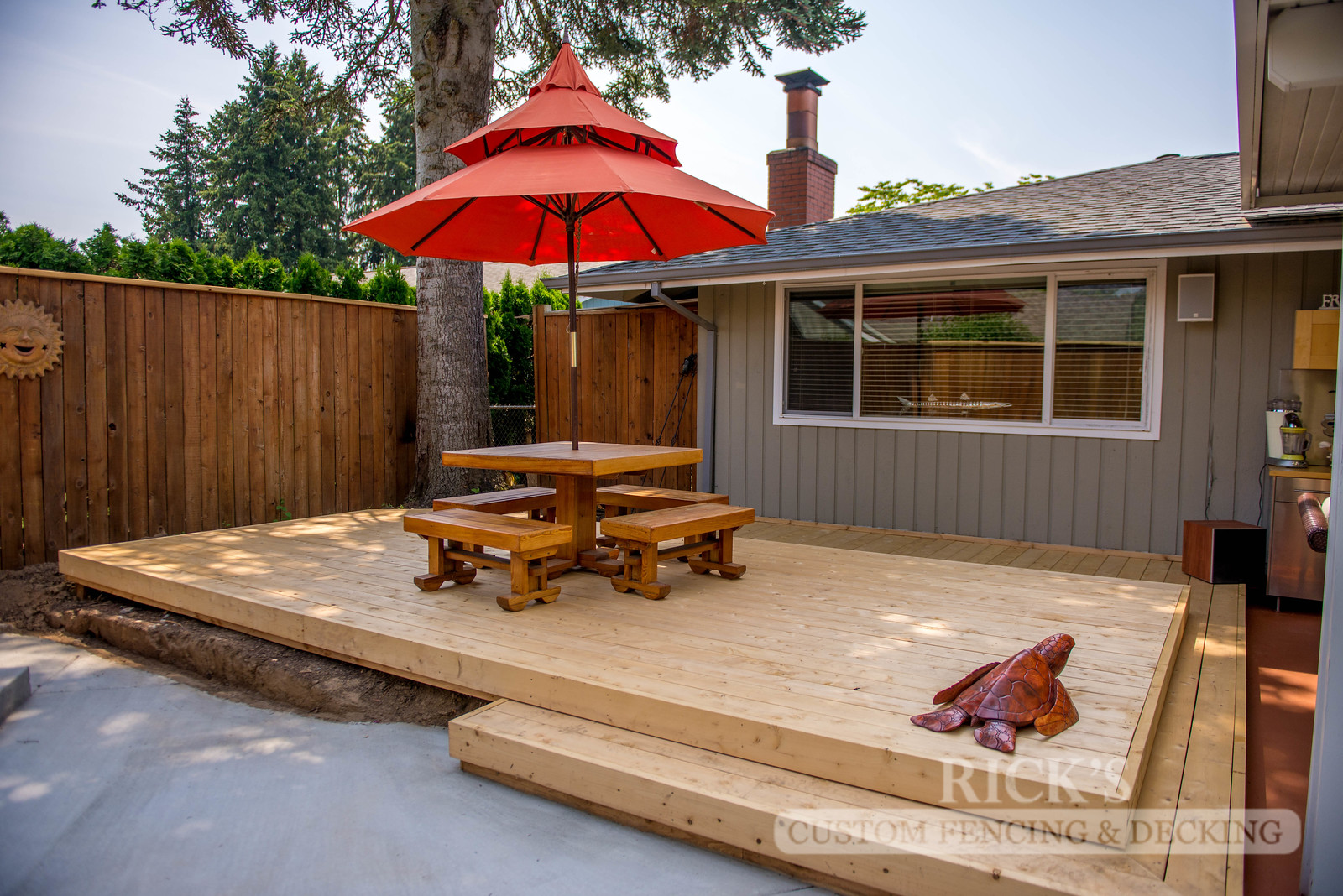 1025 - Port Orford Cedar Decking