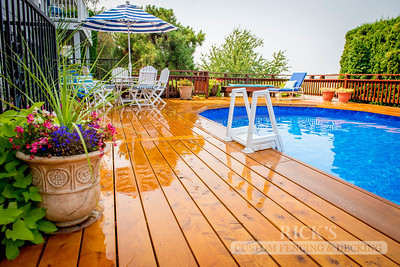 1013 - Stained Port Orford Cedar Decking