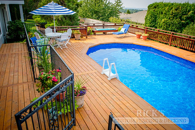 1004 - Stained Port Orford Cedar Decking