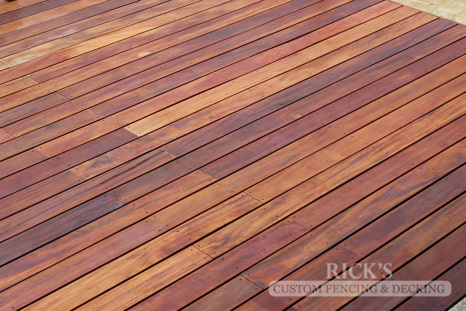 1114 - TigerWood Hardwood Decking