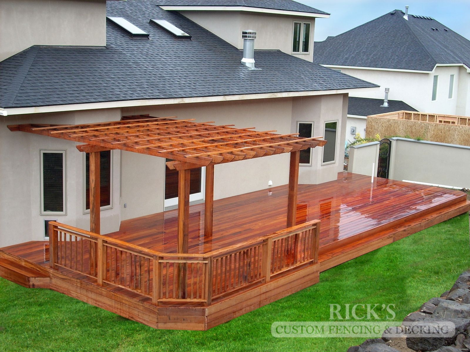 1126 - TigerWood Hardwood Decking