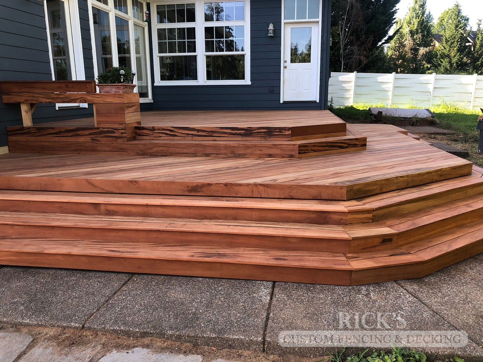 1131 - TigerWood Hardwood Decking